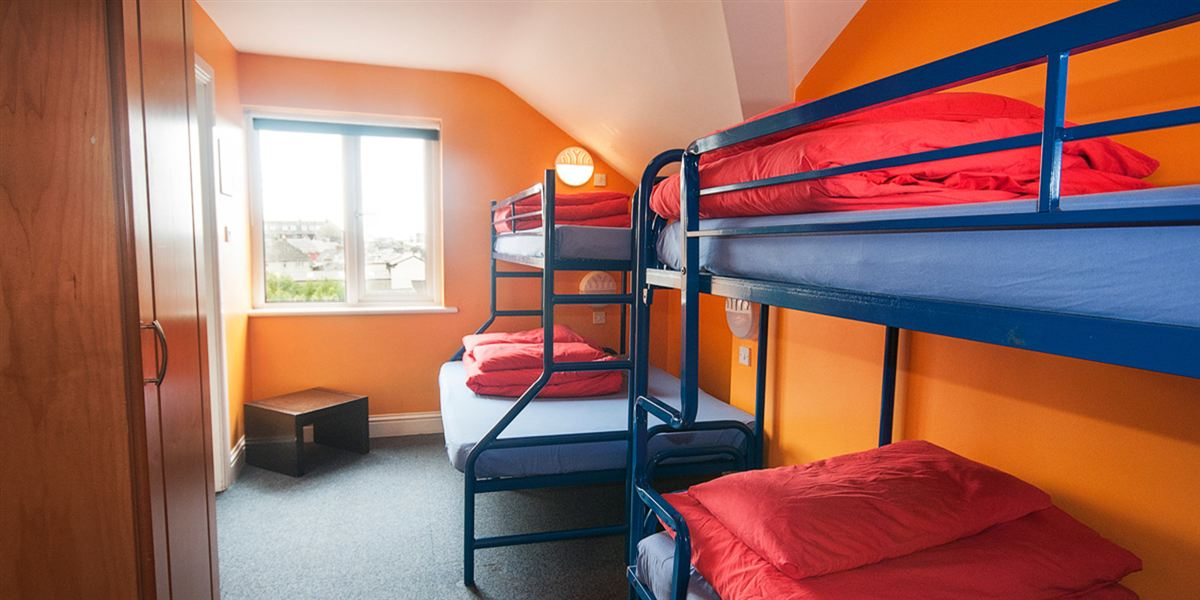 Best family-friendly hostel Galway Ireland